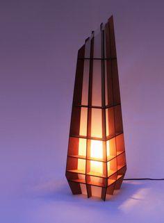Obelisk Lamp by Nicholas Baker at Coroflot.com
