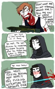 Pay attention kylo!!
