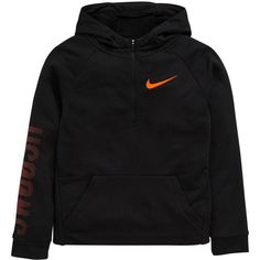 Nike Older Boy Dry Fit Overhead Hoody ($32) ❤ liked on Polyvore featuring nike
