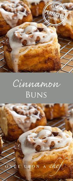 Quick Cinnamon Buns with Buttermilk Glaze #sweettooth #cinnamonbuns #quickcinnamonbuns #buttermilkglaze #cinnamonroll #breakfast #brunch #delicious #breakfastofchampions #theperfectcinnamonbun #testedandperfected