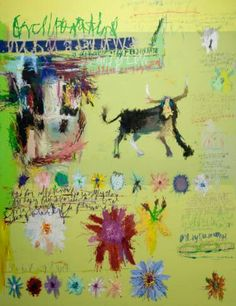 "Saatchi Online Artist: Woo, Kukwon; Oil, Painting ""The story of Ferdinand"""
