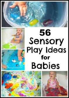 infant sensory ideas - Google Search
