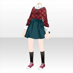 Anime Outfits, Cool Outfits, Fashion Outfits, Character Costumes, Character Outfits, Clothing Sketches, Anime Dress, Fashion Design Sketches, Drawing Clothes