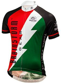 The Brainstorm Bolt Jersey from Brainstorm Gear offers a Club-Cut with  superior fit and finish 0350627c5
