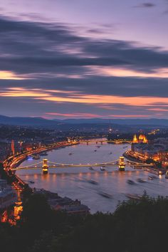 Budapest at Night   - Explore the World with Travel Nerd Nici, one Country at a Time. http://TravelNerdNici.com