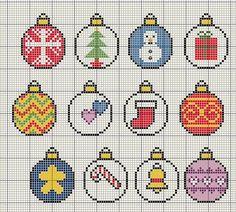 Christmas bauble designs by Buzy Bobbins