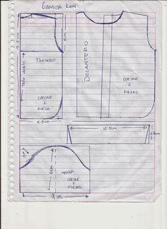 CREANDO IDEAS por EDITH5866: MOLDES O PATRONES PARA ROPITA DE MUÑECAS BARBIE, MONSTER HIGH Y KEN