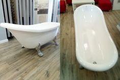 Cada cu picioare, cu montaj pe pardoseala, de la producatorul Bella Casa, model Bella Casa 901, disponibila cu dimensiuni de 170x70 cm, fabricata din acril, culoare alb. Bathtub, Bathroom, Model, Standing Bath, Washroom, Bathtubs, Bath Tube, Full Bath
