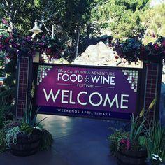 Fun Friday working the Disney California Adventure Food & Wine Festival Kick Off!! #disneycaliforniafoodandwine #specialevents #Disneyland60 #unforgettablecast  by lauwin84