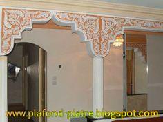 Rosace en pl tre de plafond d coration mauresque for Decoration en platre