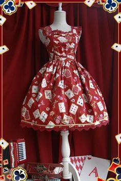 e8079376b01 Angel Pleated Square Neck Lolita Jumper Skirt