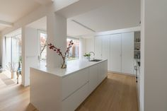 Open Plan Kitchen Dining Living, Living Room Kitchen, New Kitchen, Kitchen Rules, Kitchen Design, New Homes, House Design, Inspiration, Home Decor