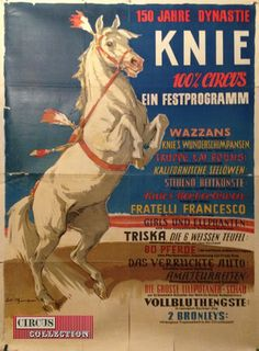 Circus collection: Circus Knie 1949