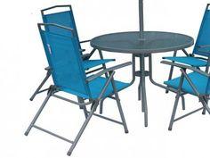 Conjunto para Jardim 4 Cadeiras - 1 Mesa 1 Ombrellone - Bel Fix Miami com as melhores condições você encontra no Magazine Etukadigital. Confira!