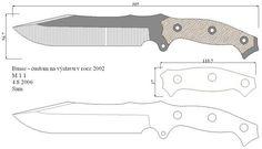Чертежи ножей для изготовления. Часть 2 | LastDay Club image 90
