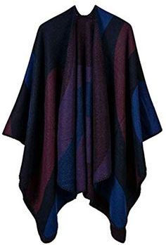 Polo Pancho Thermal Fleece Poncho//Scarf with 20 Fashion Style Options