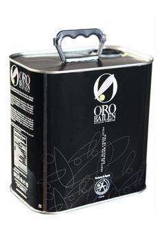 Oro Bailen Family Reserve- Award Winning Cold Pressed Extra Virgin Olive Oil, New Harvest Tin