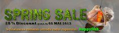 oferta valabila pana in data de 05 mai 2013 pentru comenzi mai mari de 150 lei