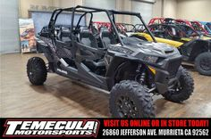 New 2017 Polaris RZR XP® 4 Turbo EPS ATVs For Sale in California. 4 seats to share unmatched power, suspension, and agility.