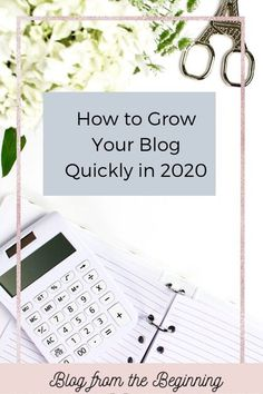 If you're ready to take your blog seriously, here are the top ways to grow your blog quickly in 2020!