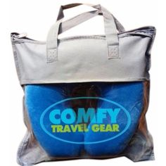 Air Travel Pillow Relaxation Set Best Memory Foam Pillows for Plane Travel with Free Sleep Mask & Custom Pillow Carry Bag http://amzn.to/1Qj6KEg #comfytravelpillow #vovcyan