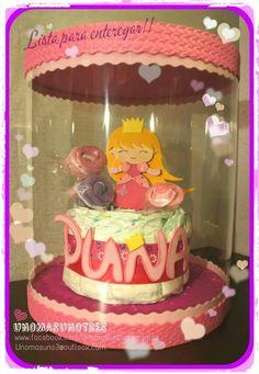 Pasteles / tartas de pañales - Diapers cake  Www.facebook.com/unomasunotresregalos