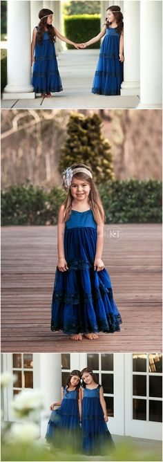 Navy Satin Sweetheart Dress- Flower Girl, lace, Wedding, Tulle, Birthday, Girl, Toddler, country, rustic dress, summer, long
