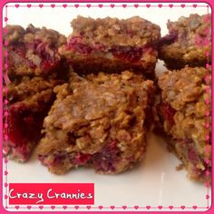 Recipe Of The Week: Cranberry Oat And Nut Bars – Triathlete Gourmet Dog Treats, Doggie Treats, Nut Bar, Natural Dog Treats, Cranberry Recipes, Yummy Treats, Healthy Eating, Tasty, Nutrition