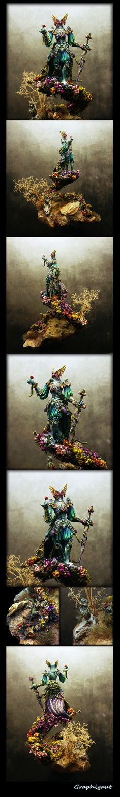Flower Knight painted by Graphigaut