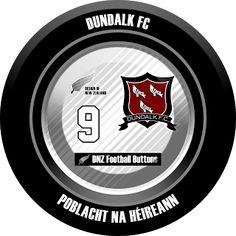 DNZ Football Buttons: Dundalk FC