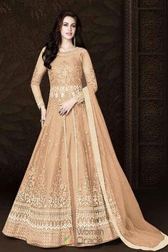 50af4125ad Product is delivered Unstitched (Semi-Stitched)It can be custom-stitched  upto Size 42 inches Work Type: Zari, Resham Embroidery & Stones Work Top  Color: ...
