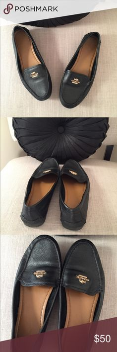 Coach loafers Excellent preowned condition. Worn a handful of times. Coach Shoes Flats & Loafers