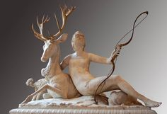 In the gardens Diane de Poitiers installed her now famous fountain, of herself as Diana the Huntress, which was laid out by Jehan Nicole who lived at Anet.