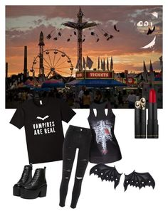 """vamps are real"" by kayearnold on Polyvore featuring River Island"