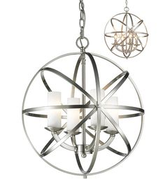 Z-Lite 6017-4S-BN 4 Light Pendant