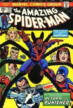 Amazing Spider-Man #135. The Tarantula and the Punisher.