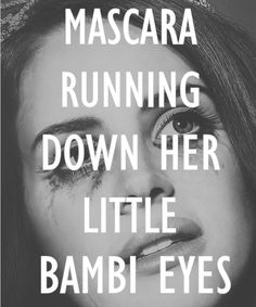 Lana Del Rey #lyrics
