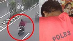 SH (27), pelaku penjambretan terhadap seorang penumpang ojek online (ojol) yang bernama Warsilah (37) di Cempaka Putih, Jakarta Pusat, menyerahkan diri ke polisi pada Minggu (8/7/2018).