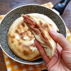 Focaccia in padella senza glutine e senza lievitazione