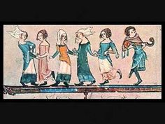 Unusual Historicals: Arts and Music: Medieval Dance Renaissance Music, Medieval Music, Medieval Life, Medieval Art, Ancient Music, Historical Artifacts, Ancient Artifacts, Kids Castle, Medieval Manuscript