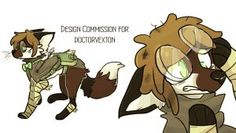 Character Design for doctorvexton by lupisvulpes