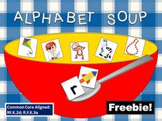 FREEBIE! Common Core Aligned (RF.K.2d; RF.K.3a) Beginning Sounds Learning Center