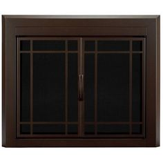Pleasant Hearth Enfield Small Fireplace Doors