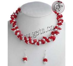 http://www.gets.cn/product/Chip-Gemstone-Freshwater-Pearl-Necklace--with-coral-dyed-beads--and--earring--5-6mm-4-6mm_p473507.html