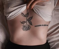 PirAdo - Approach To Go Wellbeing (Let Your Wellbeing Grow) Rose Drawing Tattoo, B Tattoo, Lotus Tattoo, Tattoo Drawings, New Tattoos, Girl Tattoos, Tatoos, Flower Tat, Aesthetic Tattoo