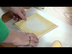 Embossing with Card Demo Die Cutting, Emboss, Plastic Cutting Board, Crafting, Youtube, Cards, Craft, Crafts To Make, Crafts