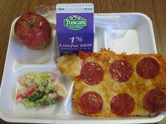 School Pizza Lunch