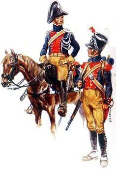 Gendarmeria a cavallo e a piedi francese - Anonimo