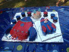 Rocket cake and smash cake!