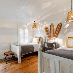 Coastal Bedroom, Boys surf room.